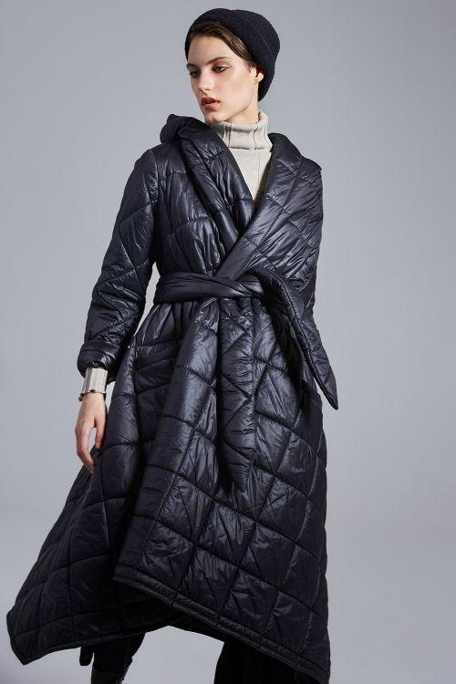 Пальто Ампир, стежка ромб