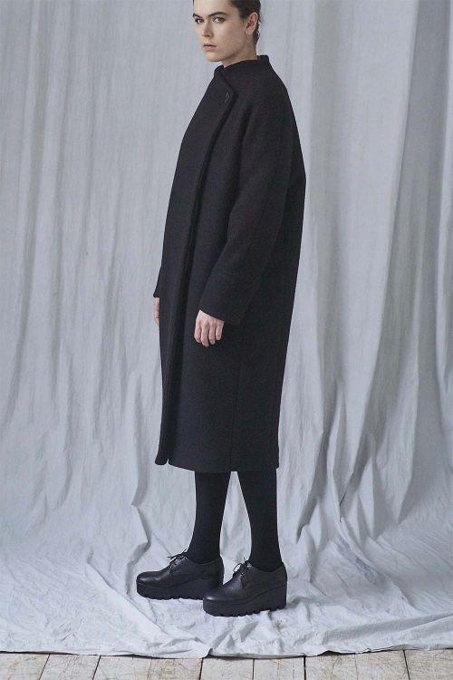 Пальто овал шерсть