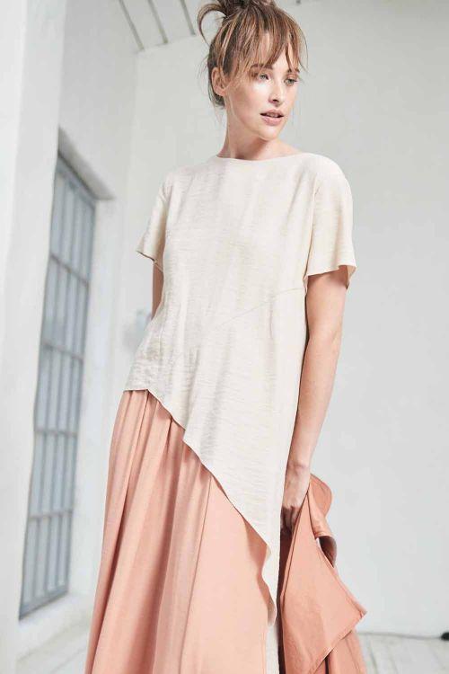 Блуза асимметрия Хвост