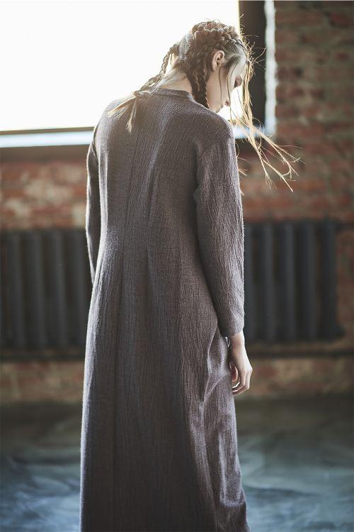 Платье прямое с завязками, крэш