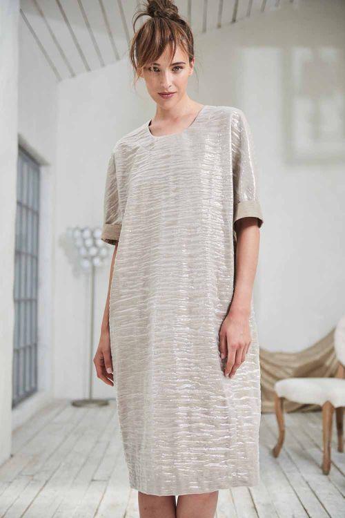 Платье Овал, блеск