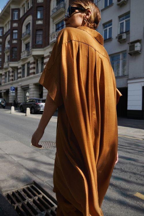 Блуза «Туника «Воздушная» на пуговицах