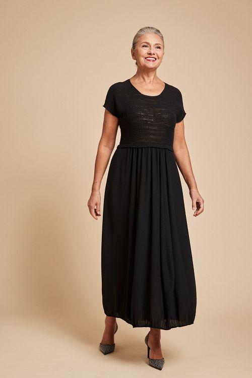 Платье «Комбинированное, темное»