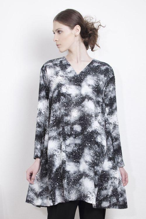 Блуза-клеш Млечный путь