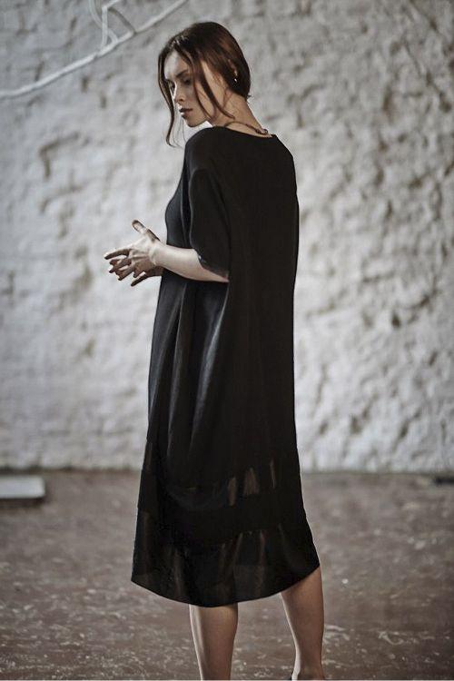 Платье ТУНИКА ГОФРЕ с полосами