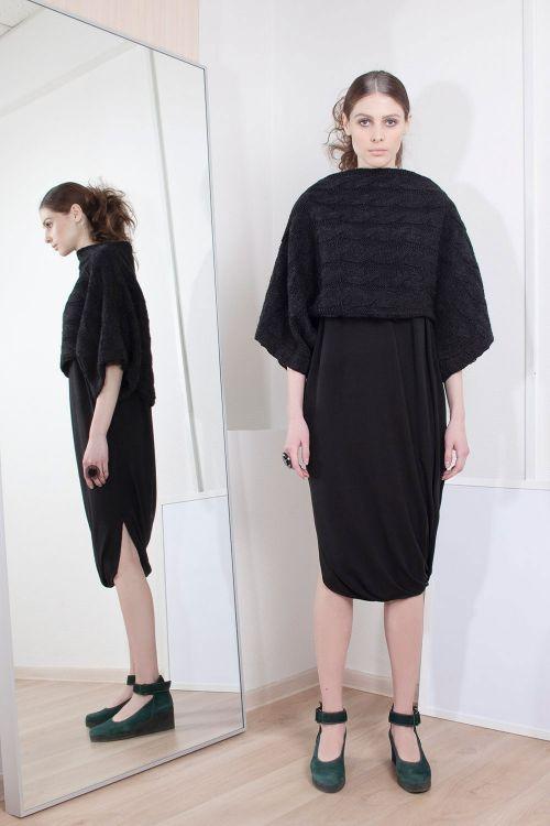 Платье кимоно-комплект косичка