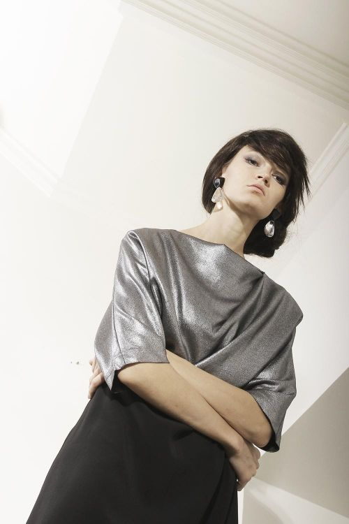 Платье-комплект Серебро