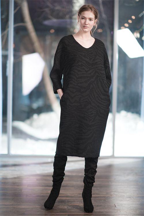 Платье Овал, среднее, жаккард