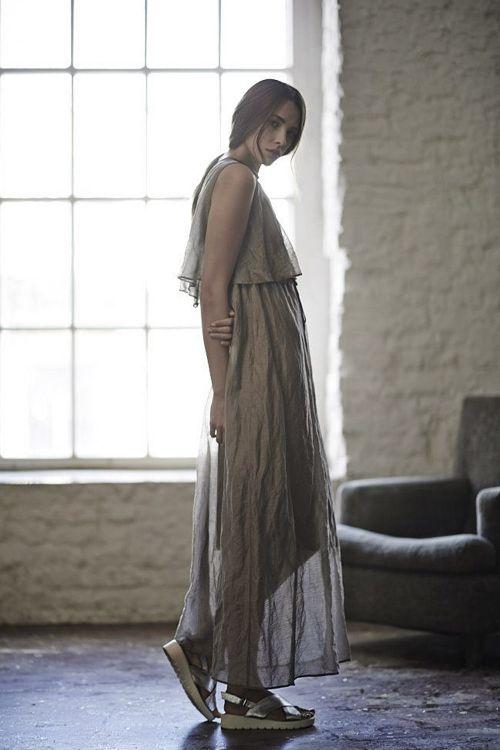 Платье ПЕЛЕРИНА тонкая жатка