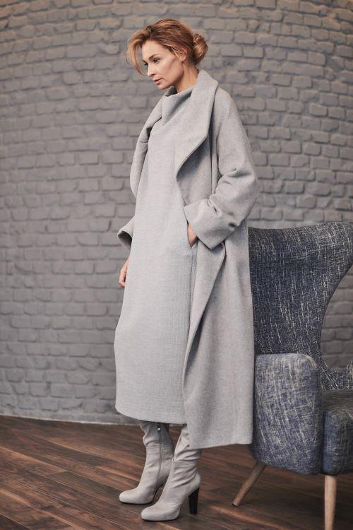 Пальто Трапеция, шерсть