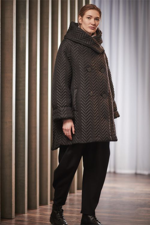 Куртка Трапеция, стёжка Зигзаг