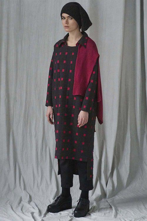 Платье прямое Квадраты