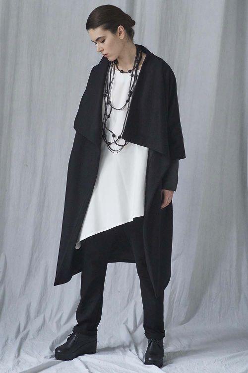 Пальто комбинированнное среднее