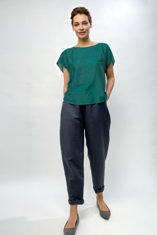 Блуза Кимоно, шелк