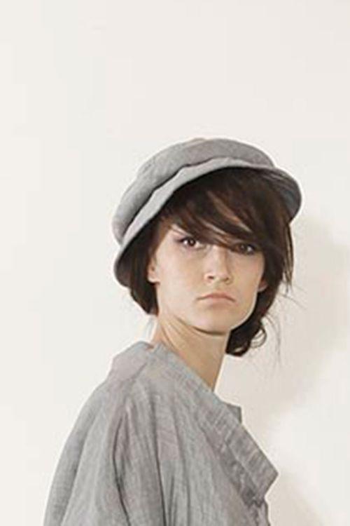 Шляпка с валиком