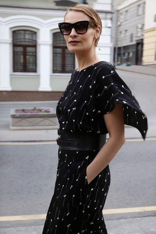 Блуза «Крылышко-каре, «Графика»