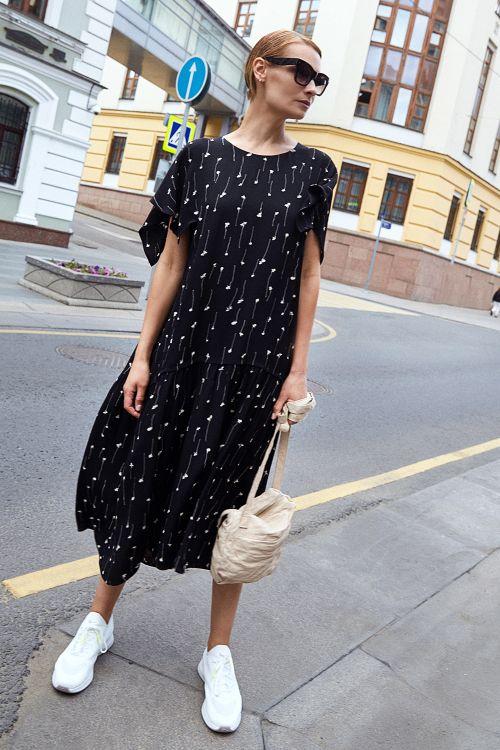 Платье «Крылышко-каре, «Графика»
