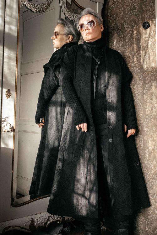 Платье Жаккард на пуговицах
