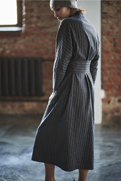 Платье Каре в полоску