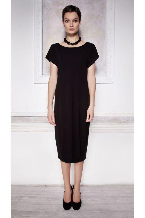 Платье базовое короткий рукав