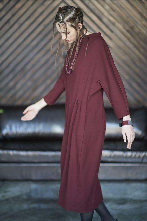 Платье Песочные часы длинное, соты