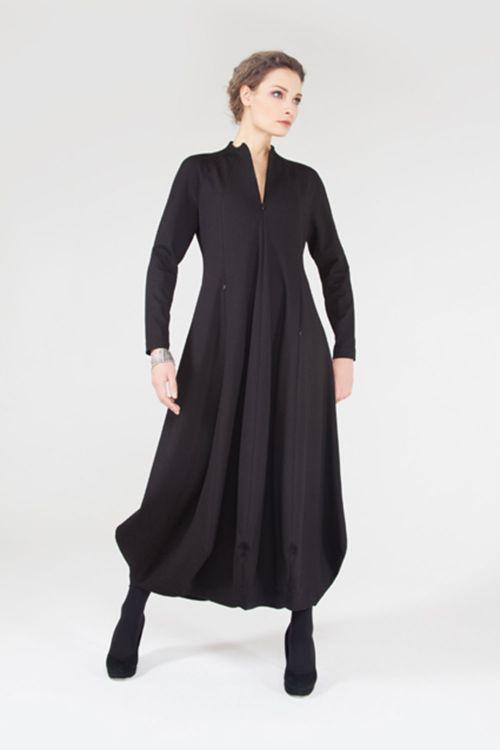 Платье Дайвинг длинное