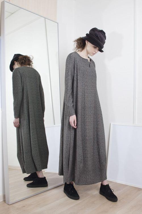 Платье Брызги длинное