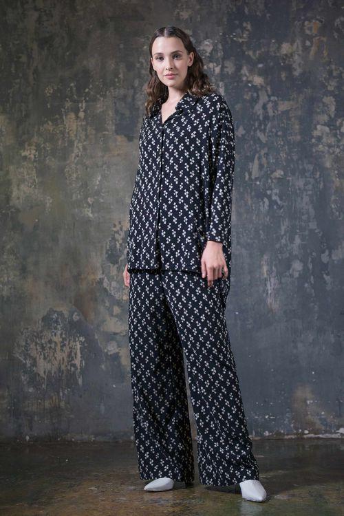 Блуза кимоно-квадрат, Гравюра