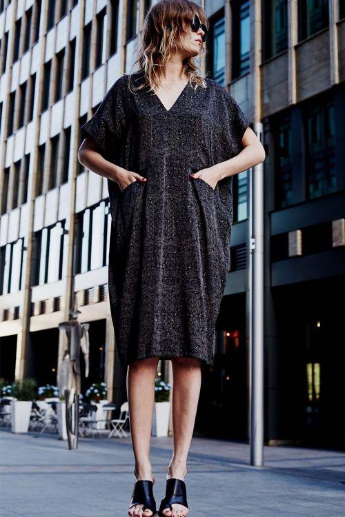 Платье кимоно-футляр АРАБЕСКИ