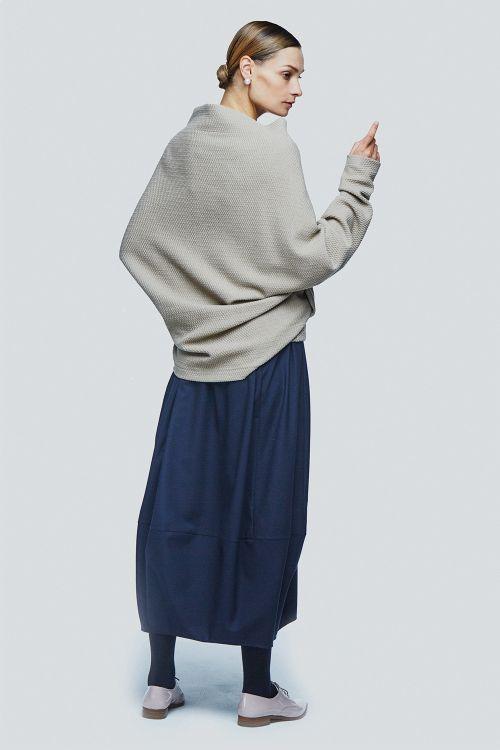 Жакет шаль плетёнка