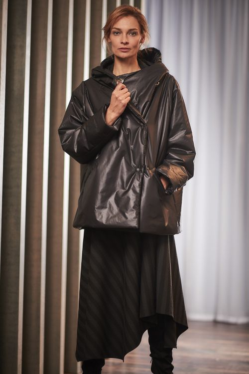 Куртка Комби-объём, капюшон