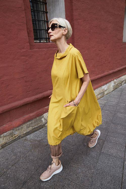 Платье «Баллон, среднее»