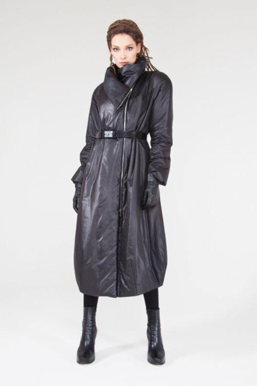Пальто Овал длинное на синтепоне