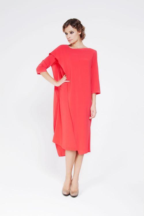 Платье с пелериной