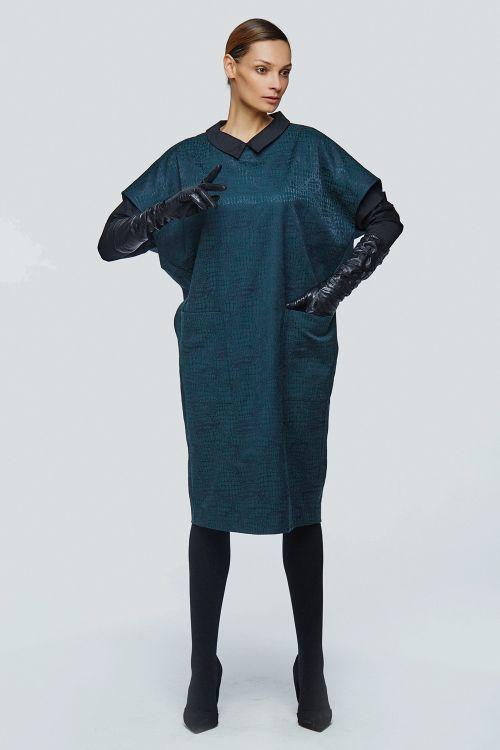 Платье-жилет змея