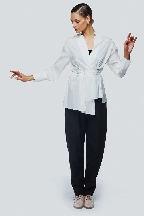 Блуза запах