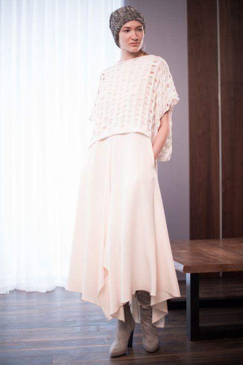 Платье Клёш без рукавов