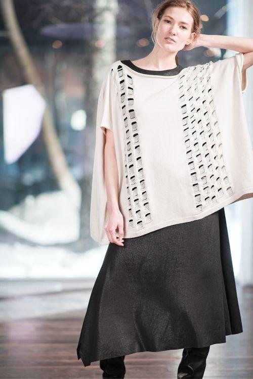 Платье Угол-база, варёный трикотаж
