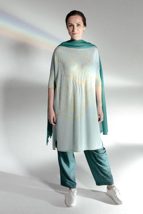 Платье Листья