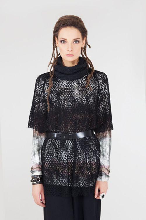 Блуза Кружево-кимоно