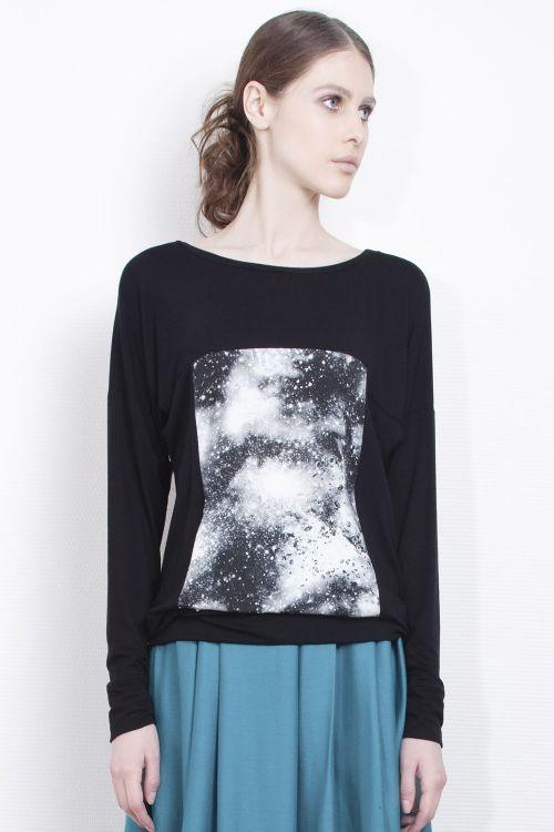 Блуза Млечный путь-квадрат