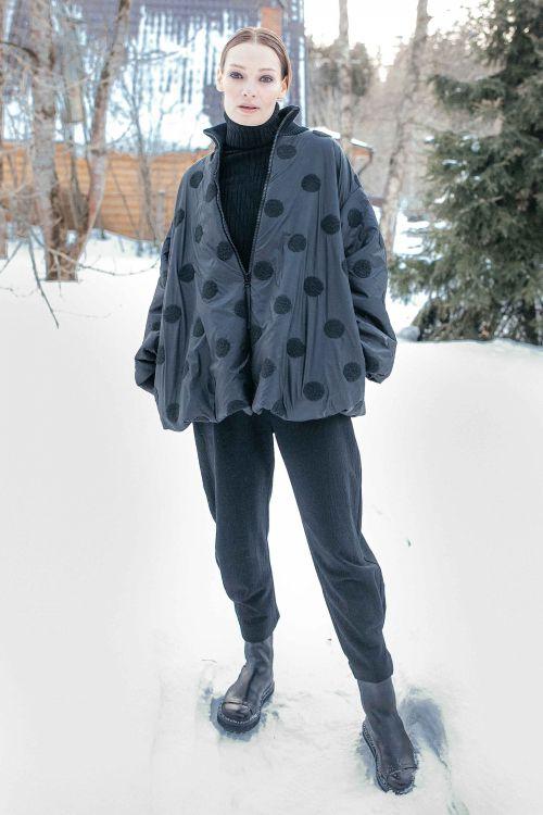 Куртка Горох