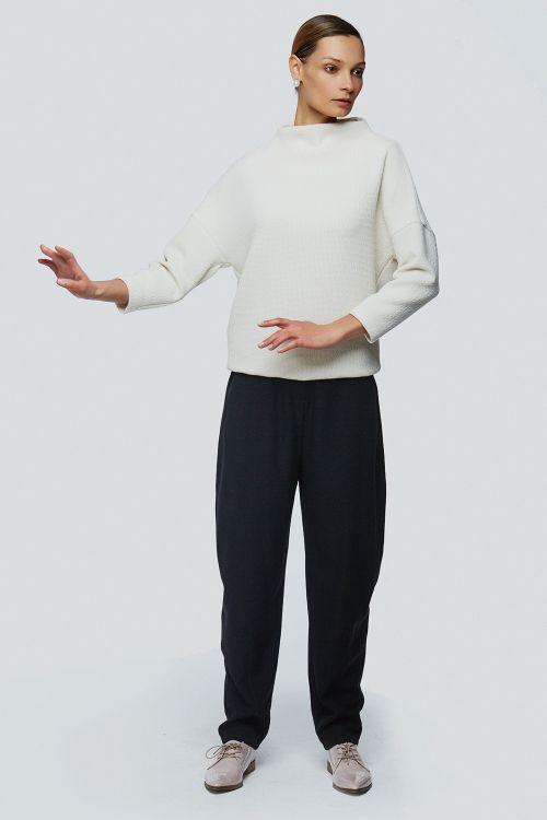 Блуза хомут соты