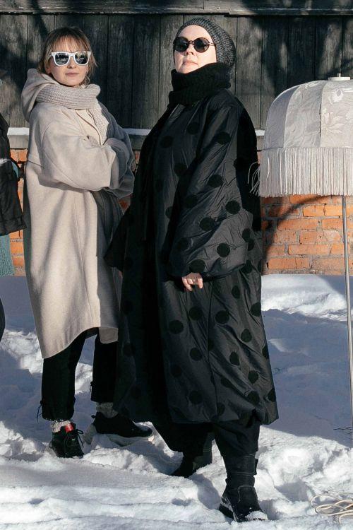 Пальто Горох