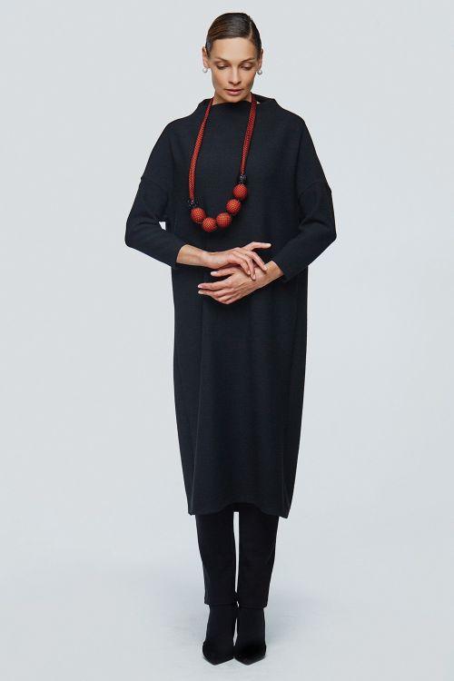 Платье хомут прямое соты