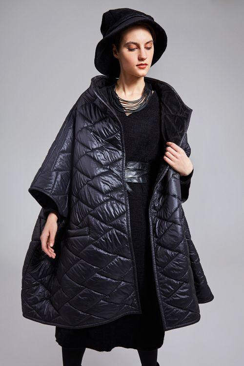 Куртка Пончо, стежка