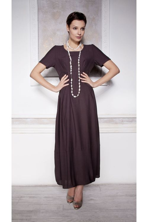 Платье Овал средний рукав