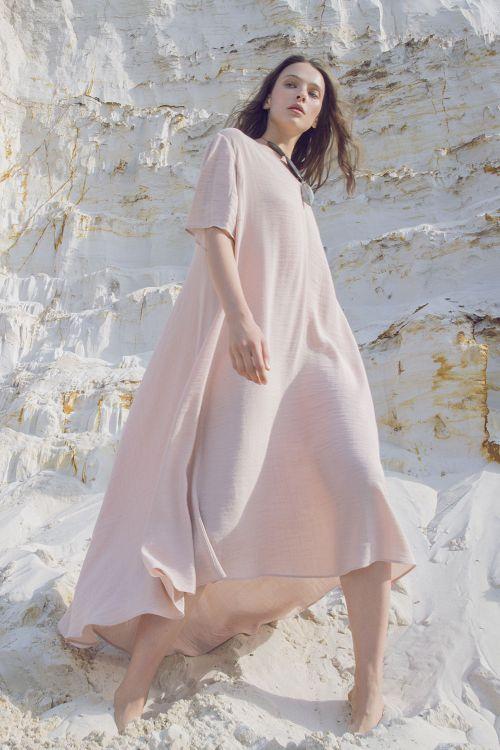 Платье Летящее, крэп