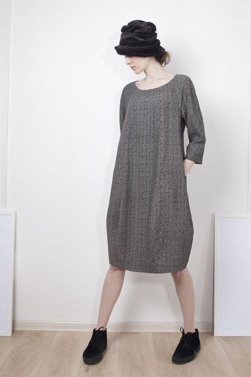 Платье Брызги среднее