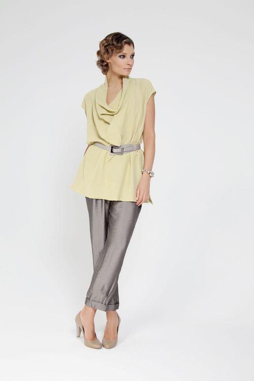 Блуза Качели-трапеция